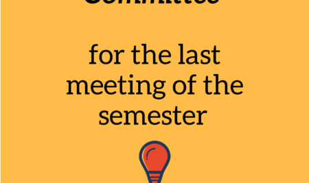 Join the Education Committee's meeting!