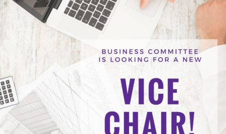 Take your chance to become the Vice Chair of the Business Committee!