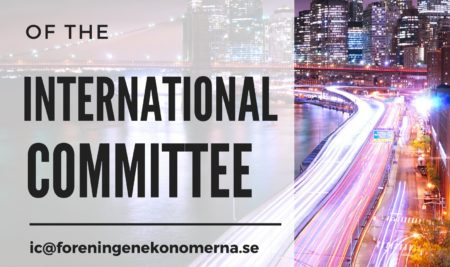 International Committee wants YOU as Vice Chair!!