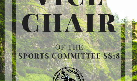 Vice Chair Sports Committee SS18
