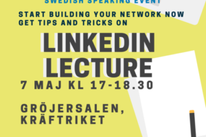 LinkedIn Lecture Poster